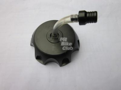 Крышка бензобака CNC черная фото 1