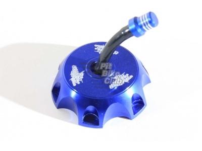 Крышка бензобака CNC синяя фото 1
