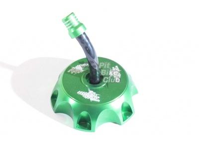 Крышка бензобака CNC зеленая фото 1