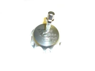 Крышка бензобака CNC серебряная фото 1