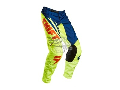 Мотоштаны Shift Racing Assault Race Pants 2015 (Ylw-blu) Сине-желтый 32(М) фото 3
