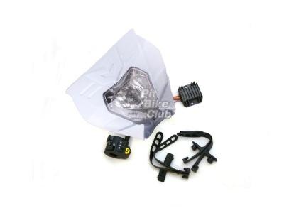 Набор головного света КТМ на питбайк Plug&Play белый фото 1