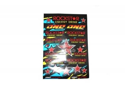 """Наклейки лист (30х45 см) """"ROCKSTAR"""" фото 1"""