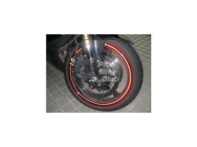 Наклейки светоотражающие на колесный диск  12' фото 1