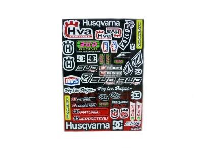 Наклейки Husqvarna BUD фото 1