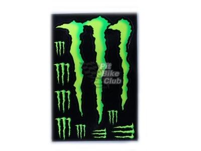 Наклейки Monster Energy фото 1