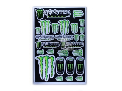 Наклейки Monster Energy Drink фото 1