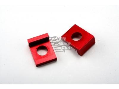 Натяжители цепи 15мм алюминий красные фото 1