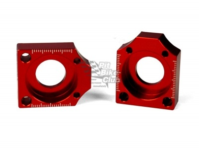 Натяжители цепи YCF красные с контролем натяжения (пара) фото 1
