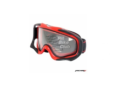 Кроссовые очки с двойным стеклом G800 Красные MICHIRU фото 1
