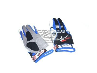 Перчатки  ProBiker сине-черные XL фото 1