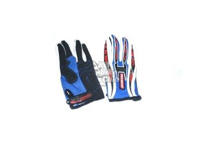 Перчатки  ProBiker сине-красные М фото 1