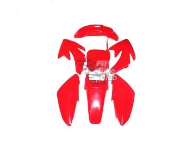 Пластик CRF70 красный комплект фото 1