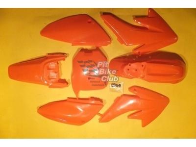 Пластик CRF70 оранжевый комплект фото 1