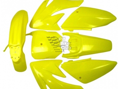 Пластик CRF70 желтый комплект фото 1