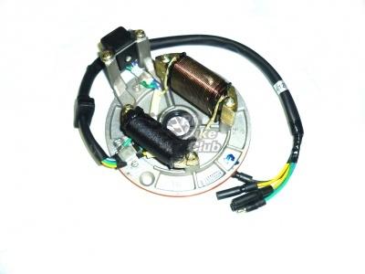 Плата генератора YX 110/125 с обмоткой для света фото 1