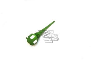 Щуп масляный CNC зеленый 110/125/140 фото 1