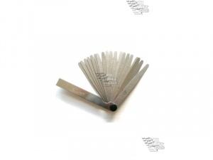 Щупы для выставления зазора клапанов 0,02-0,50мм 100мм