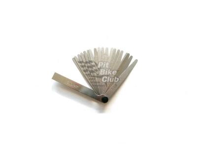 Щупы для выставления зазора клапанов 0,02-0,50мм 70мм фото 1