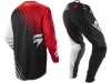 Мотоштаны Shift Racing Faction Satellite Pants 2014 Красно-черно-белые 30(S) превью 3