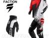 Мотоштаны Shift Racing Faction Satellite Pants 2014 Красно-черно-белые 30(S) превью 9