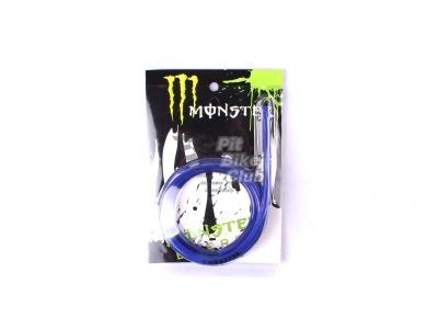 Шланг топливный MONSTER 1m синий фото 1