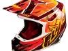 Шлем Кроссовый Fly Racing F2 Acetylene красный/желтый глянцевый M 2015 превью 1