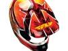 Шлем Кроссовый Fly Racing F2 Acetylene красный/желтый глянцевый M 2015 превью 3