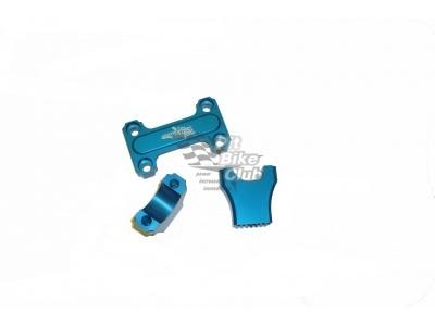 Стойки руля  CNC синие  28.6 мм фото 1