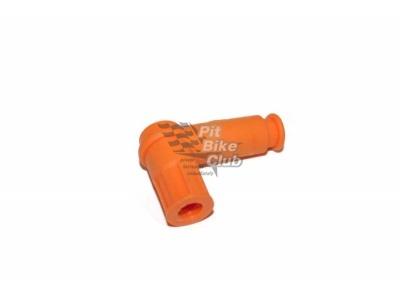 Свечной колпачек оранжевый фото 1