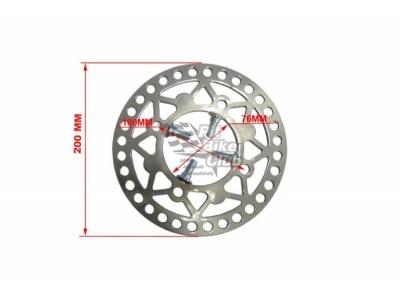 Тормозной диск задний 200мм RACER  фото 1