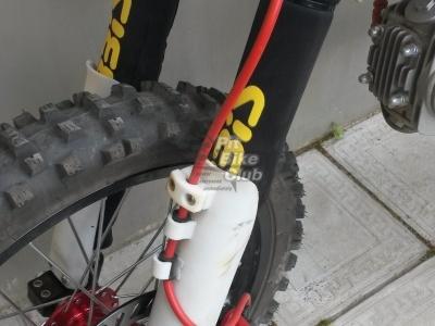 Защитные чехлы на передние амортизаторы (перья вилки) MONSTER фото 3