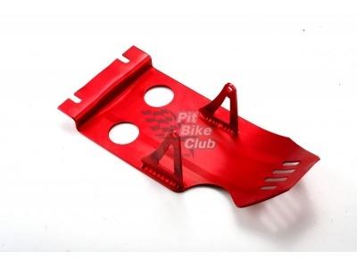 Защита двигателя алюминий красная фото 1