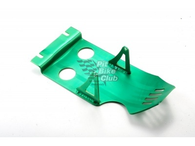 Защита двигателя алюминий зеленая фото 1