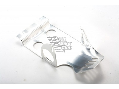 Защита двигателя с электростартером алюминий серебряная фото 1