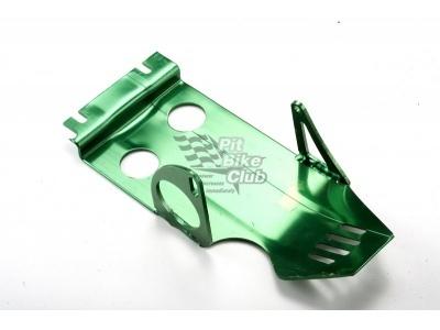 Защита двигателя с электростартером алюминий зеленая фото 1