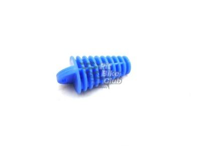 Затычка глушителя резиновая синяя фото 1
