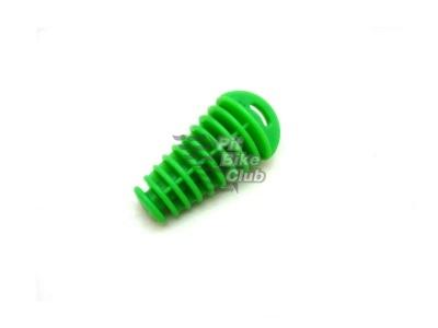 Затычка глушителя резиновая зеленая фото 1