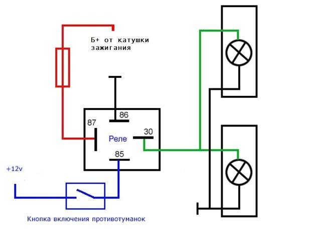 Схема подключения генератора для камаза