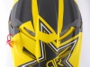 Шлем кроссовый Fox Racing V1 Rockstar ECE 2014, желто-черный превью 7