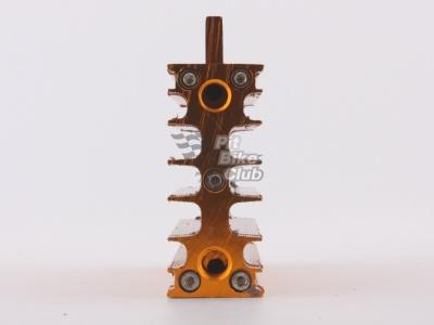 Радиатор алюминиевый в сборе золотой фото 1