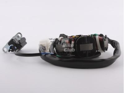 Статор генератора TTR125 (6 катушек) фото 5