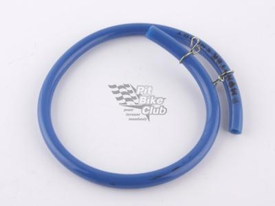 Топливный шланг резиновый синий 40см с зажимамми фото 1