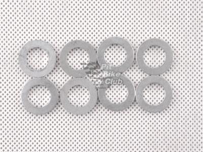 Шайбы алюмин. 12мм 8шт комплект  фото 1