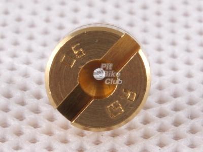 Жиклер главный 90 для MIKUNI,MOLKT (микуни,молкт) M5 фото 3