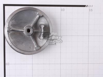 Крышка головки цилиндра левая круглая d-72 мм двиг.88-125 см3 фото 3