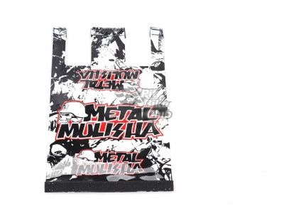 Стикер на подушку руля 28,6 мм Metall Mulisha фото 1