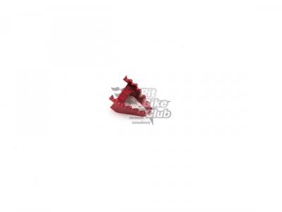 Наконечник педали (лапки) тормоза CNC красный фото 1