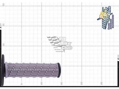 One Industries Gamma Low Profile грипсы на руль, черный фото 9