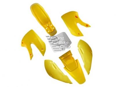 Пластик комплект KLX желтый фото 1
